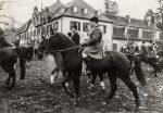 1955 Jagd in Schloss Auel