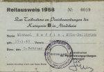 1958 Reitausweis Michael Neffin