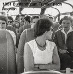 1961 Busfahrt nach Aachen