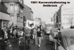 1961 Karnevalszug in Dellbrück