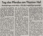 1962 Tag des Pferdes Thurner Hof