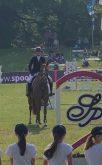 Tini Klein mit Championesse Levista bei der Platzierung