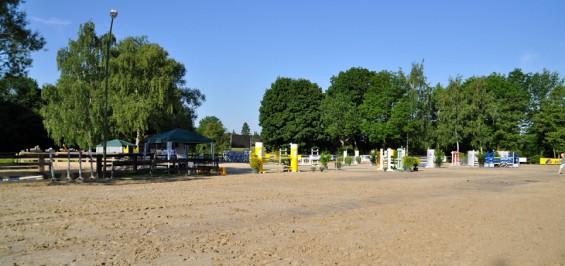 Springplatz des kölner Reitvereins Kornspringer