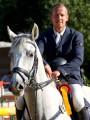 Unser Reitlehrer Matthias Bojer, Sieger des S-Springen auf dem Kornspringer Turnier im Juni 2011
