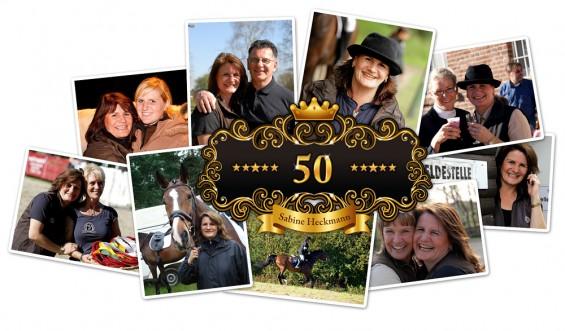 Sabine Heckmann 50. Geburtstag