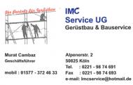 Sponsor: IMC Service UG (Gerüstbau & Bauservice)