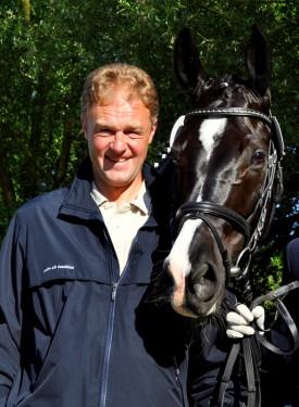 Unser Team-Leiter der Reitlehrer und Pferdewirtschaftsmeister Stefan Weyandt