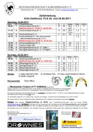PDF-Datei: Zeiteinteilung Kornspringer Reitturnier September 2011